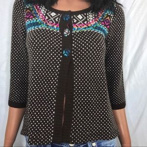 Guinevere Fairfield Sweater. Size Large